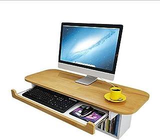 XEWNG Genou Tables Bureau d'ordinateur de Bureau Mural Banc de Travail de Bureau d'ordinateur Petit Espace Bureau d'ordina...