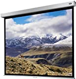 celexon - Schermo per videoproiettore a rullo retrattile manuale per home cinema e business 4K e Full HD con slow return Professional Plus - 300 x 225 cm - 4:3