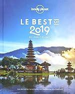 Le Best of 2019 de Lonely Planet de LONELY PLANET FR
