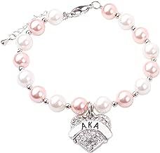 sorority pearl bracelet