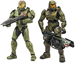 McFarlane Toys Action Figure - Halo 3 Deluxe - RED TEAM LEADER AND MASTER CHIEF 2-PACK