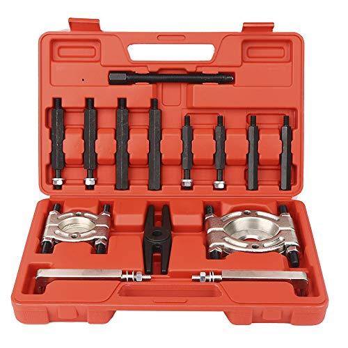 Juego de extractores de cojinetes, 14 piezas de caja de cambios automática Juego de separadores de extractores de cojinetes Juego de herramientas para dividir cojinetes Paquete de herramientas de desm