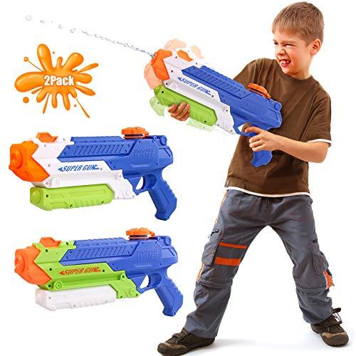 Beewarm Water Guns for Kids Adults - 900 CC Super Water Soaker Long Range - Lifetime Replacement -...