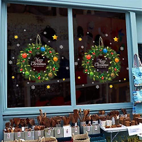 Artificielle Couronne Porte Avant Décoration, Guirlandes Fleurs Artificielles Décoration Noël Pour Guirlande D'entrée Cintre Décoration De Noël