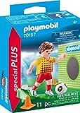 Playmobil 70157Special Plus Jugadores de Fútbol con Puerta Pared,...