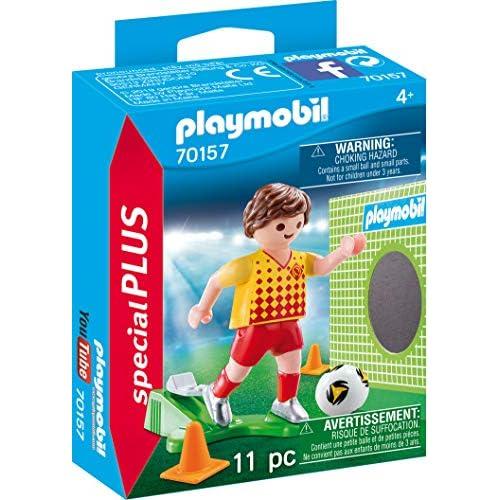 Playmobil Special Plus 70157 - Calciatore Con Porta, dai 4 anni