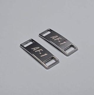 2pcs/pair Shoelace Buckle Metal Shoelaces AF1 Shoelaces buckle Accessories Metal Lace Lock DIY Sneaker Kits Metal Lace Buc...