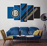 SBZJJ Inter Mailand Team Emblem Fünf gemeinsame Gemälde