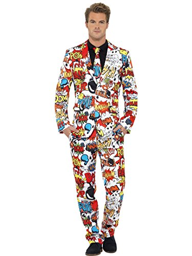 SMIFFYS Il completo Fumetto, con giacca, pantalone e cravatta
