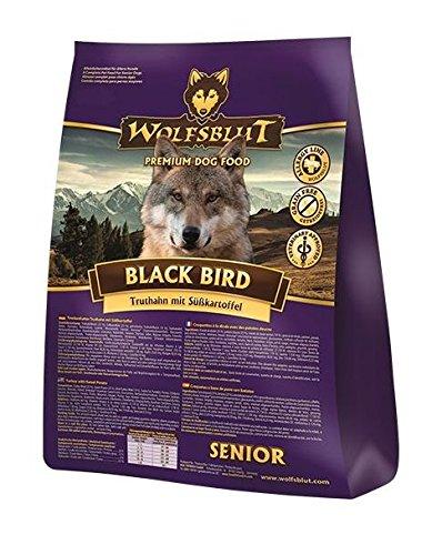 Wolfsblut | Black Bird Senior | 2 kg | Truthahn | Trockenfutter | Hundefutter | Getreidefrei