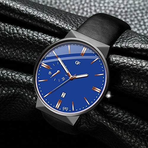 LJSGB Watch For Man Leather Whatever Late Anyway Letter Watches New Pointer Glow Best Smart Tactical Hot Sales Clock