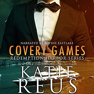 Covert Games      Redemption Harbor Series, Book 6              By:                                                                                                                                 Katie Reus                               Narrated by:                                                                                                                                 Sophie Eastlake                      Length: 6 hrs and 43 mins     34 ratings     Overall 4.6