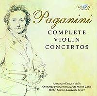 パガニーニ:ヴァイオリン協奏曲全集(3枚組)/Complete Violin Concertos