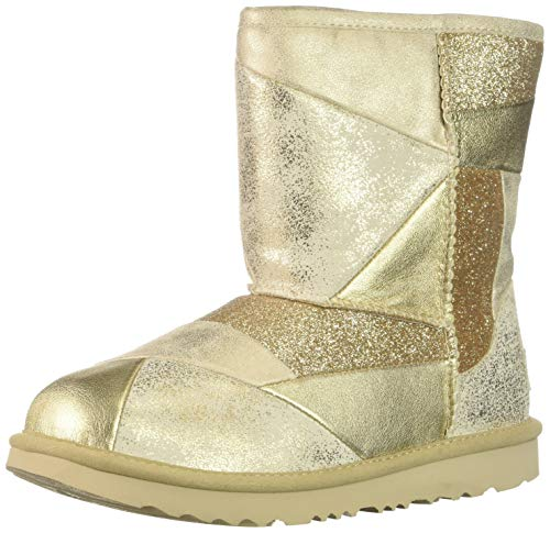 Stride Rite Baby-Girl's Willow Lightweight Riding Boot Fashion, Gold, 9.5 W US Toddler