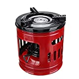 GBBHSKL Handy Portable 8 Wicks Kerosene Stove Outdoor - Windproof Oil Heaters Alcohol Stoves Perfect for Camping Picnic Backpacking Burner Furnace Cooking BBQ