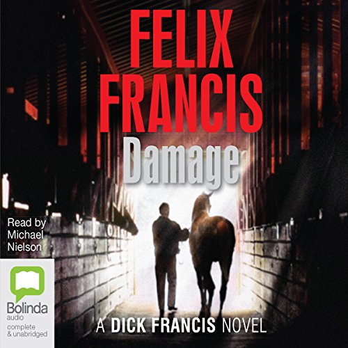 Damage audiobook cover art