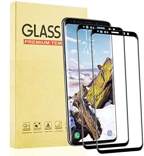 Lixuve Protector de Pantalla para Samsung Galaxy S8 Plus Cristal Templado, [2 Unidades] [9H Dureza] [Sin Burbujas] [Fácil Instalación] [Cobertura Toda] Vidrio Templado Protector Pantalla
