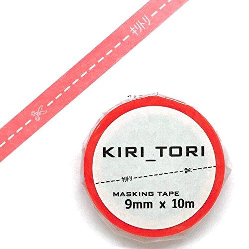 キリトリマスキングテープ マカロン 1個パック KM-03