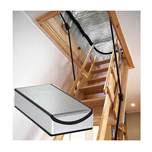 LJIANW Abdeckplane Dachseitige Treppen-Isolationsabdeckung, Dachzelt Kaltschutz Halten Sie Die Warme Aluminiumfolie Dicke (Color : Silver, Size : 25
