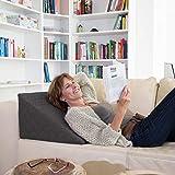 La Almohada Tipo Cuña Fantástica - para Su Sala De Estar o Su Recamara, Almohada para Leer con Un Sentado Relajado...
