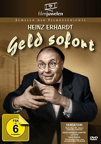 Heinz Erhardt: Geld sofort - (plus Bonus: 1 Std. Doku zum Filmfund) - Filmjuwelen [DVD]