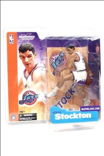 McFARLANE NBA SERIES 2 JOHN STOCKTON UTAH JAZZ FIGURE