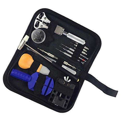 13pcs Uhrmacher Set Werkzeug Gehäuseöffner Uhrmacherwerkzeug