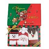 LoveLeiter 4/6 Paare Weihnachtssocken, Damen Weihnachten Socken Festlicher Baumwolle Socken Super Warm Socken für Geschenk, Kuschelsocken Lustige Socken Bunt Christmas Socks mit Exquisite...