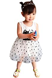 Apparel WensLTD Infant Toddler Kid Girls Lace Tutu Sleeveless Clothes Princess Tuller Dress Bottoms