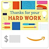 Amazon eGift Card - Thanks for your Hard Work