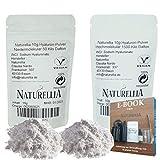 Naturellia Acido Hialuronico 20g - 10 Gramos 50 kDalton Bajo Peso + 10 Gramos 1500k Dalton Alto Peso...