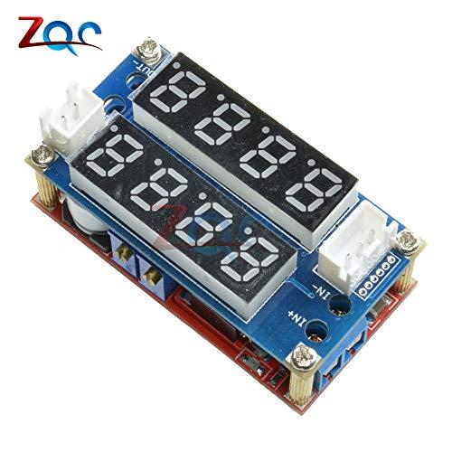 F85 5A EinstellBare Power CC/CV Step-down Charge Modul Digital Voltmeter Ammeter Display LED-Treiber für Arduino