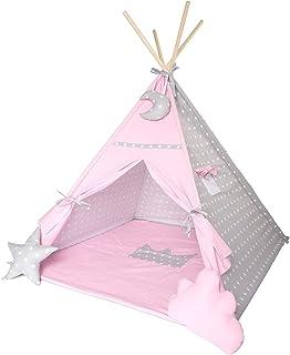Designa ditt eget tipi-tält i olika färger och mönster 150 x 150 cm, handgjort