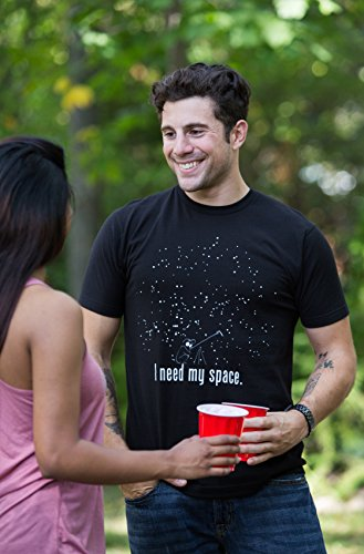 Product Image 6: I Need My Space | Funny Astronomy, Space Humor Astronomer NASA Unisex T-Shirt-Adult,XL Black