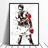 wopiaol Kein Rahmen Ali Boxing Star Sport Leinwand Poster