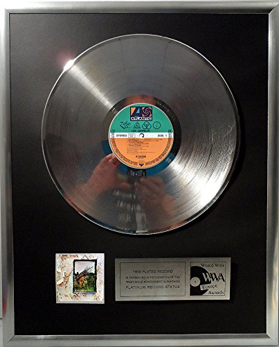 Led Zeppelin - Led Zeppelin 4 four platin Schallplatte (goldene Schallplatte)