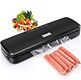 Vacuum Sealer Machine, GOSCIEN Food Saver with Dry & Moist Modes, Includes Built-in