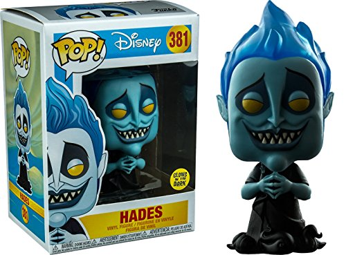 Funko- Disney Hercules-Hades Glows in The Dark Figur, Mehrfarbig, 29343