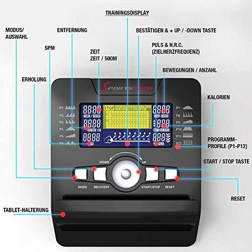 Sportstech RSX500 Rudergerät - 8