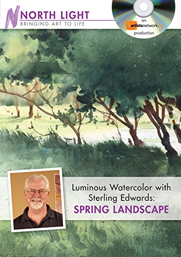Luminous Watercolor with Sterling Edwards - Spring Landscape