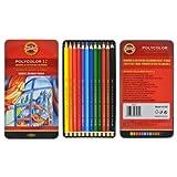 KOH-I-NOOR Polycolor 12Artists 'Colored Pencils. 3822by KOH-I-NOOR