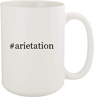 #arietation - 15oz Hashtag White Ceramic Coffee Mug