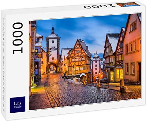 Lais Puzzle Rothenburg ob der Tauber, Bayern, Deutschland 1000 Teile