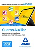 Cuerpo Auxiliar de la Administración del Principado de Asturias. Prueba de informática Office 2010 Professional Plus