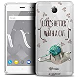 Ultra-Slim Case for 5 Inch Wiko Jerry 2, Quote Life's