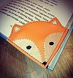 Leseecke Lesezeichen Auswahl'Fuchs''Maus''Katze''Alpaka' Lama''Schweinchen''Igel' personalisierbar Lesen Buch Leseratte Hobby Lesehilfe Buchecke Fox