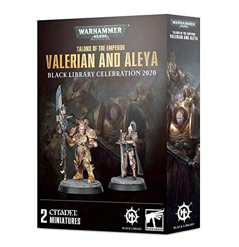 Games Workshop Warhammer 40,000: Talons of The Emperor: Valerian and Aleya