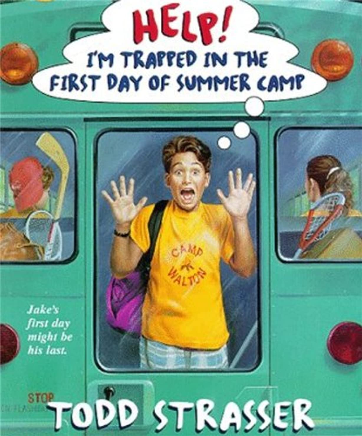 最適目を覚ます疑問を超えてHelp! I'm Trapped in the First Day of Camp (Help! I'm Trapped in ... Book 6) (English Edition)