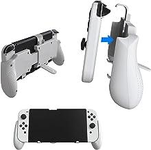 Estojo host três em um para Nintendo Switch OLED, retrátil com suporte removível, acessórios Nintendo Switch OLED