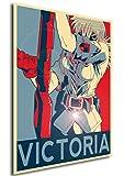 Instabuy Poster Hellsing Propaganda Seras Victoria (A3